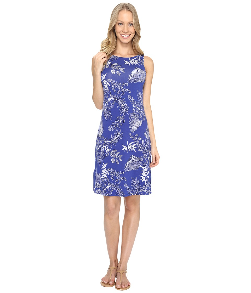 Tommy Bahama Bossa Nova Blooms Short Dress (Sapphire Night) Women