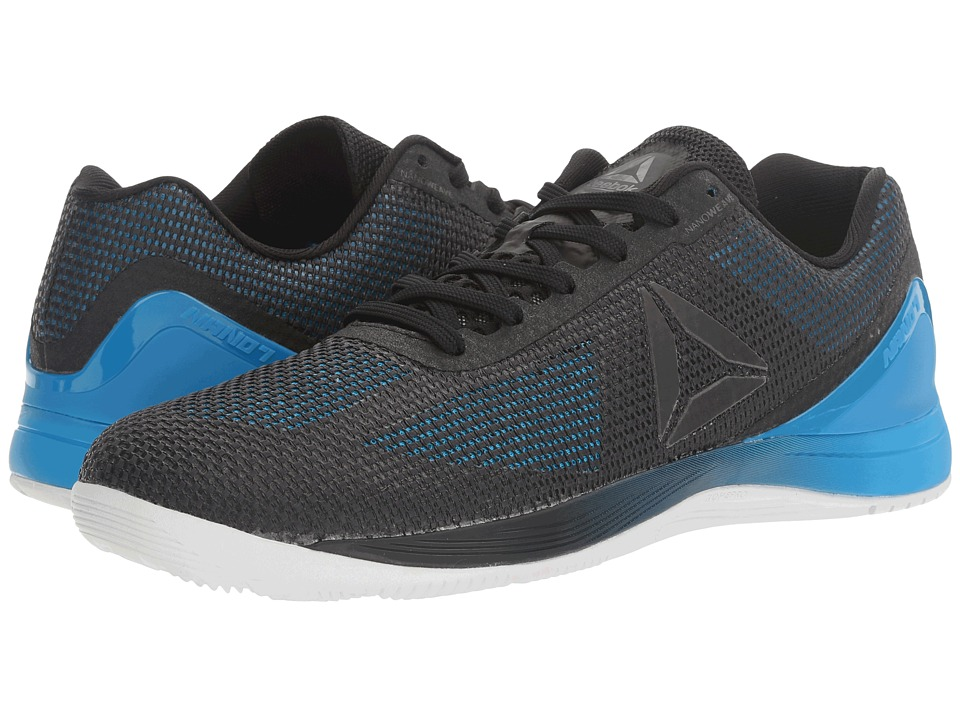 Reebok - Crossfit Nano 7.0 (Blue Beam/Horizon Blue/Black/White/Lead) Men's Cross Training Shoes