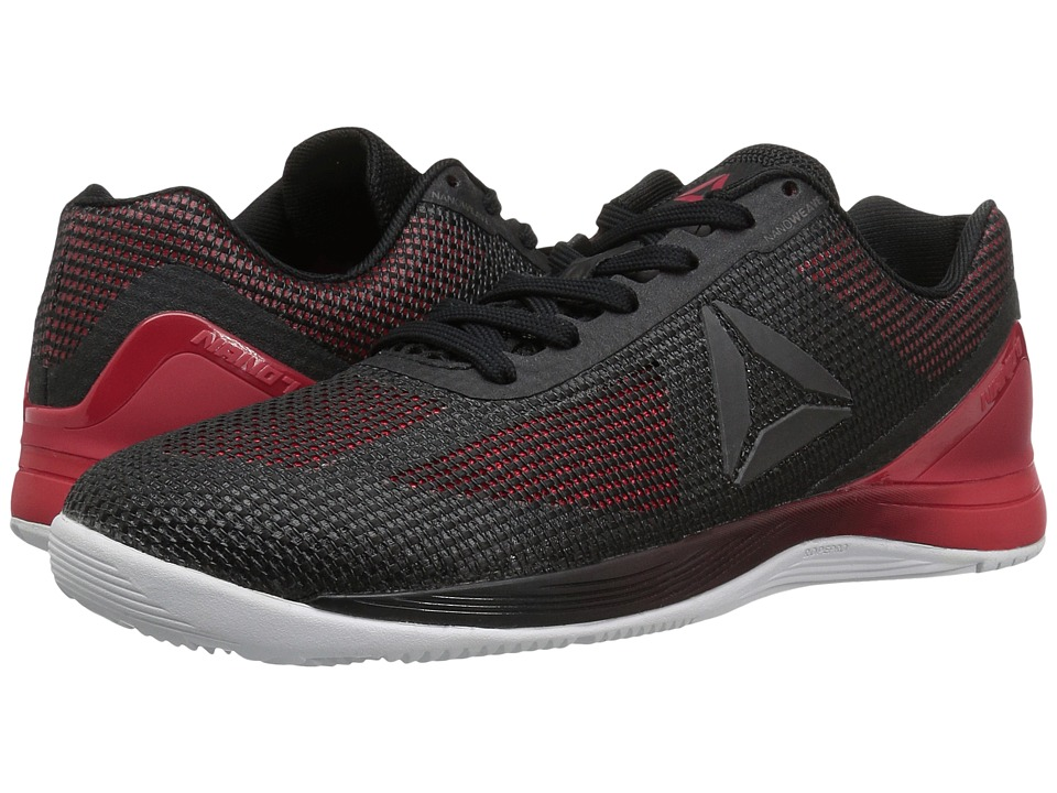 Reebok - Crossfit(r) Nano 7.0 (Black/Primal Red/White/Lead) Men's Cross Training Shoes