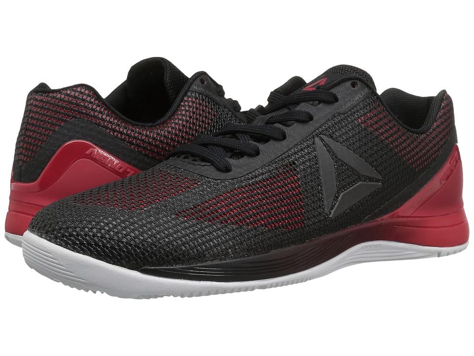 Reebok - Crossfit(r) Nano 7.0 (Black/Primal Red/White/Lead) Men's Cross Training Shoes