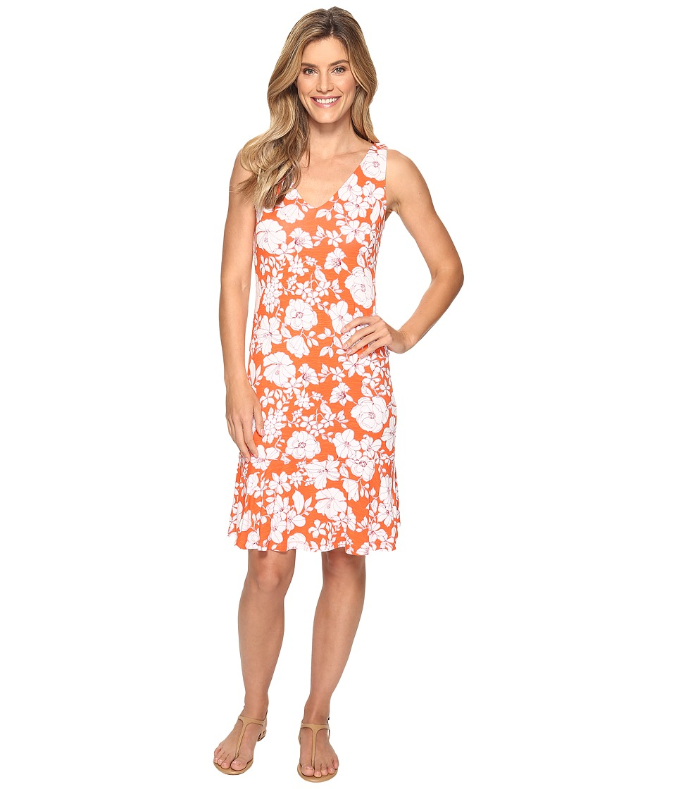 Tommy Bahama - Terra Di Flores Short Dress (Citrus Punch) Women's Dress