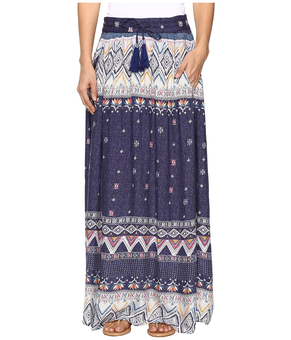 Roxy - Welly Flow Maxi Skirt (Kantha Pattern) Women's Skirt