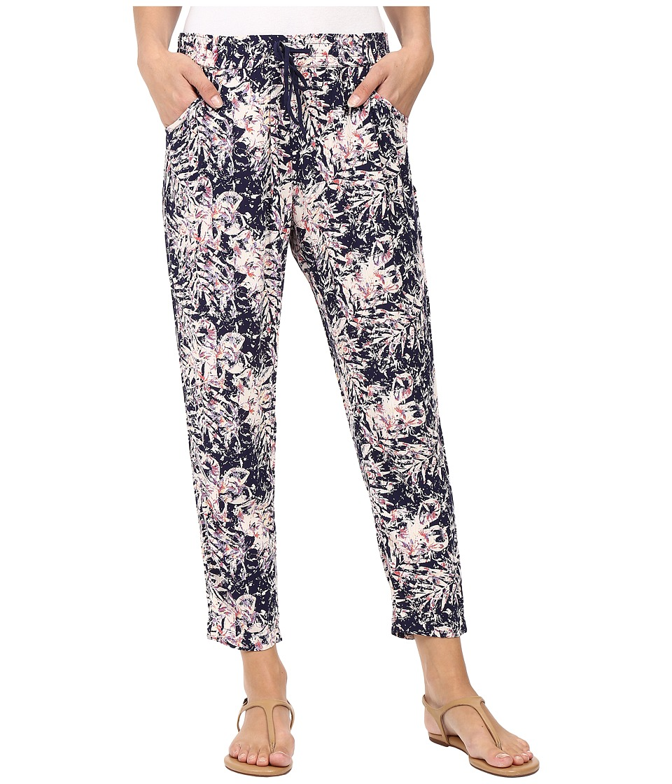 Roxy - Electric Mile Jogger Pant (Allo Americano/Blue Print) Women's Casual Pants