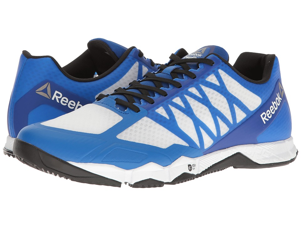 Reebok - Crossfit Speed TR (White/Black/Awesome Blue/Pewter) Men's Cross Training Shoes