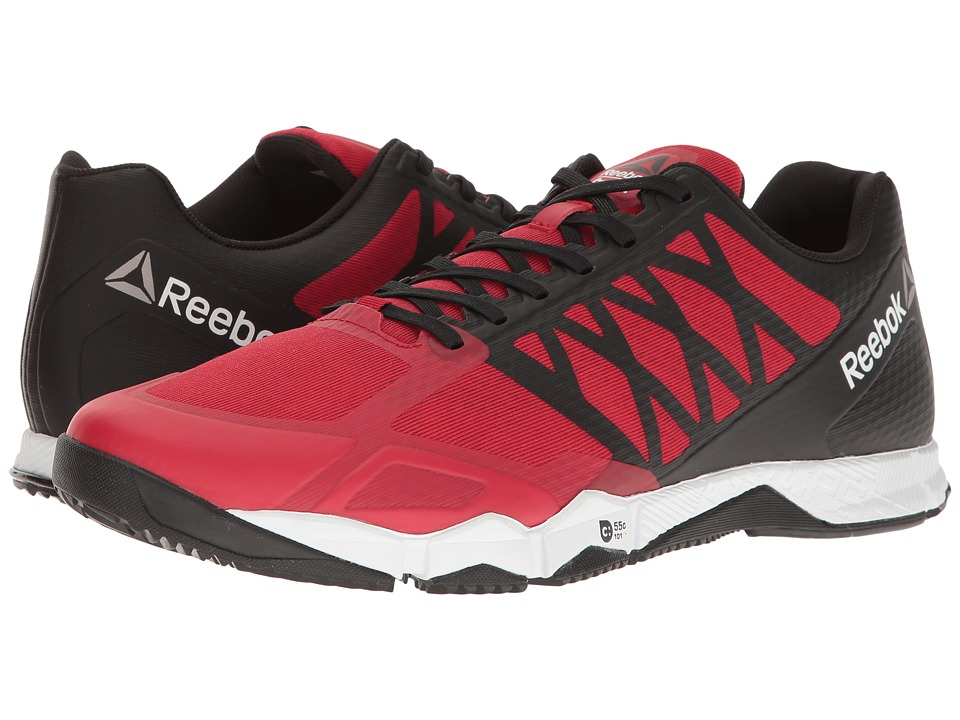 Reebok - Crossfit Speed TR (Excellent Red/Black/White/Pewter) Men's Cross Training Shoes