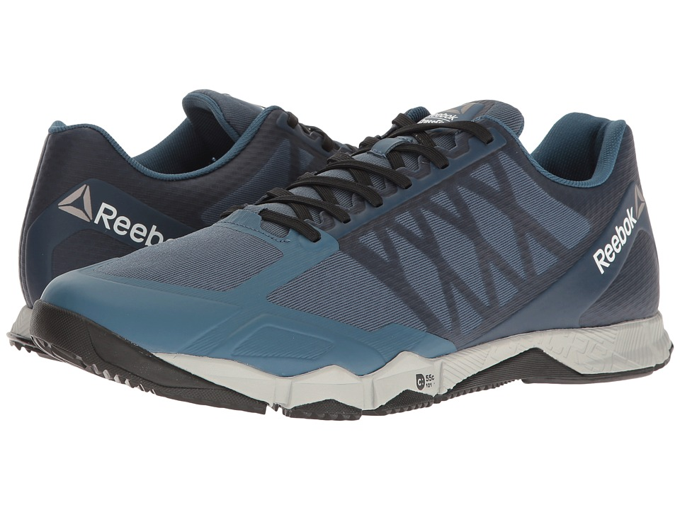Reebok - Crossfit Speed TR (Brave Blue/Skull Grey/Black/White/Pewter) Men's Cross Training Shoes