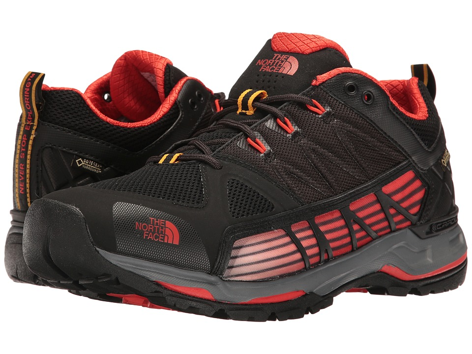The North Face - Ultra GTX Surround (TNF Black/Poinciana Orange (Prior Season)) Men's Shoes