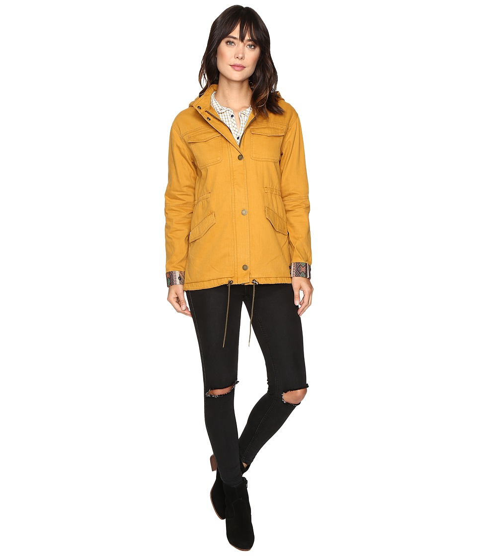 Roxy - Fancy Durban Jacket (Honey Mustard) Women