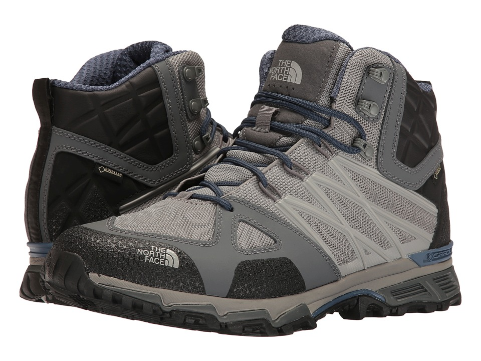 The North Face - Ultra Hike II Mid GTX(r) (Griffin Grey/Shady Blue) Men's Hiking Boots