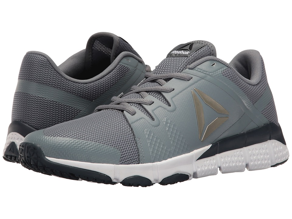 Reebok - Trainflex (Asteroid Dust/White/Collegiate Navy/Pewter/Black) Men's Cross Training Shoes