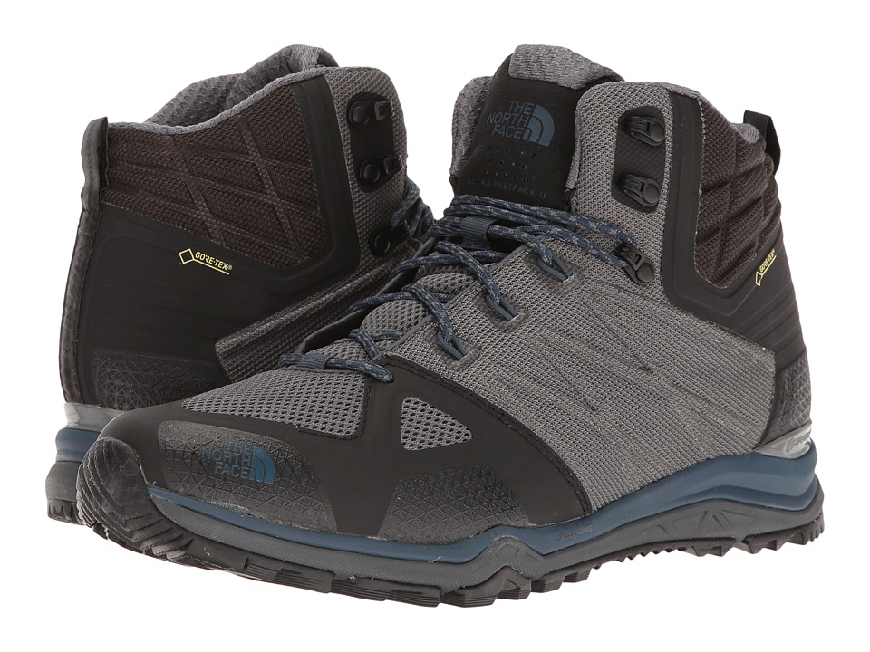 The North Face - Ultra Fastpack II Mid GTX(r) (Zinc Grey/Shady Blue) Men's Hiking Boots