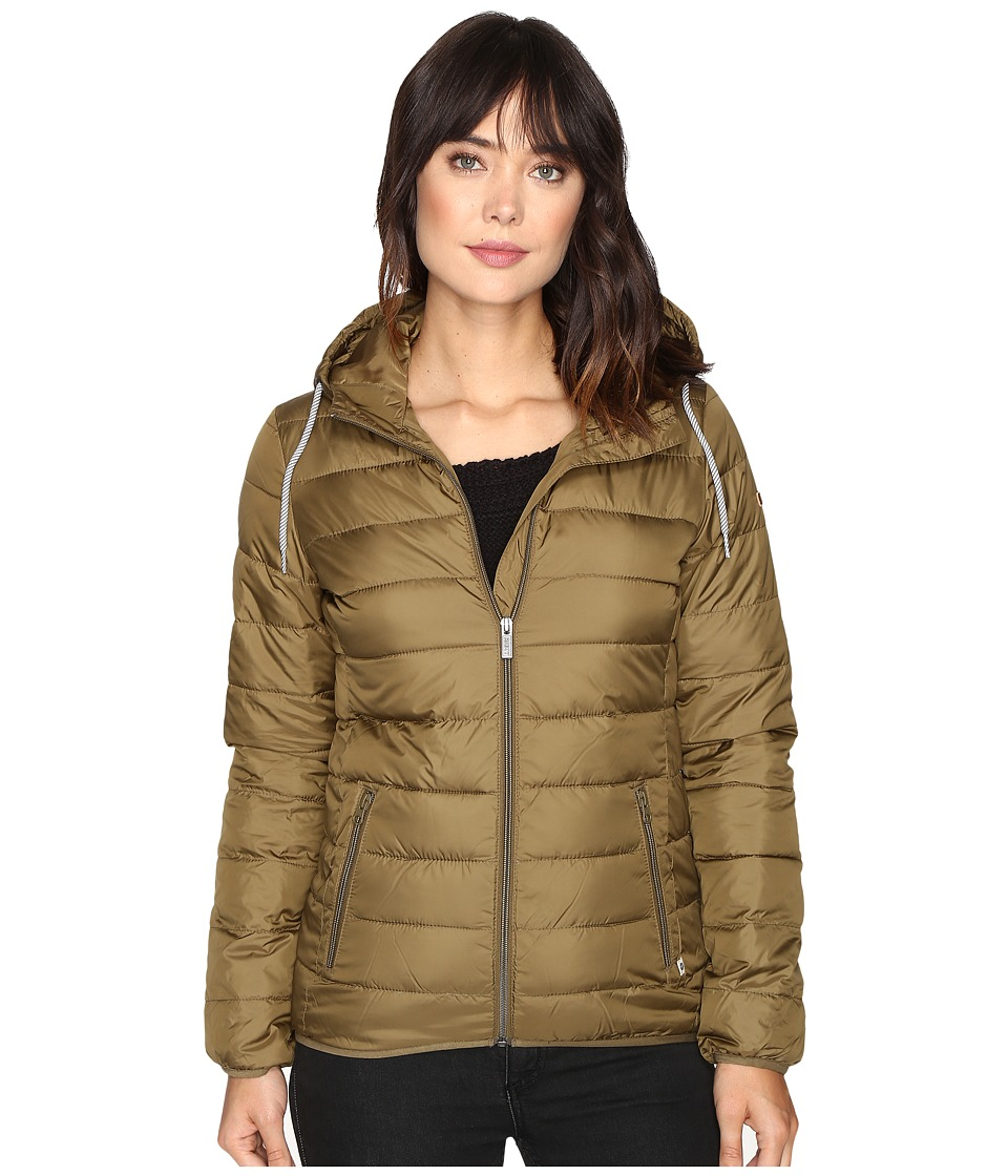 Roxy - Forever Freely Jacket (Military Olive) Women's Coat