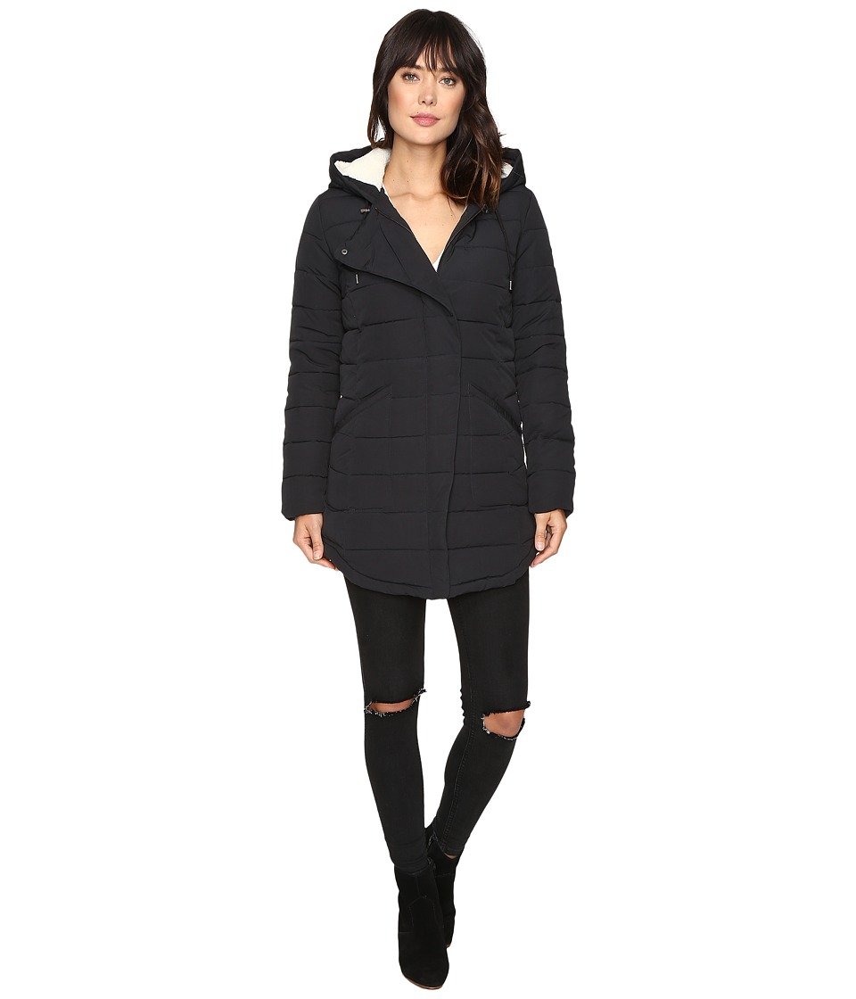 Roxy - Indi Coast Coat (True Black) Women's Coat