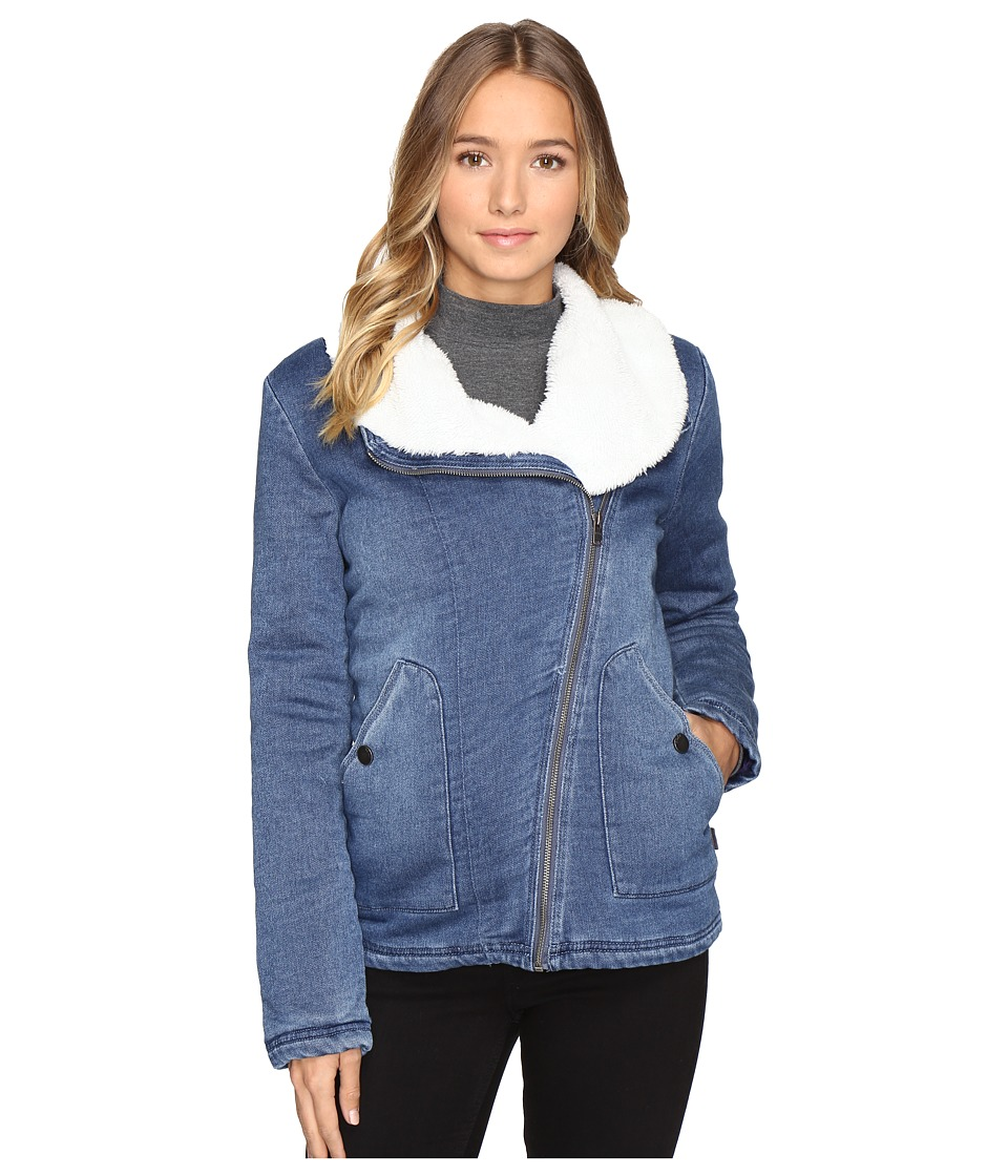 Roxy - San Simon Jacket (True Navy) Women's Coat