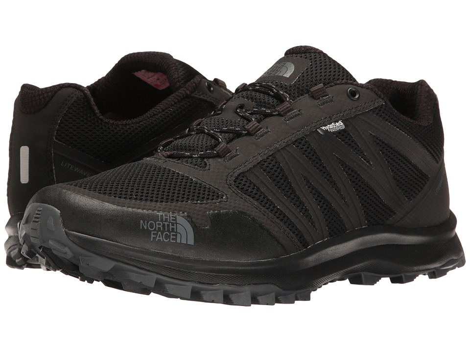 The North Face - Litewave Fastpack WP (TNF Black/Zinc Grey) Men's Shoes