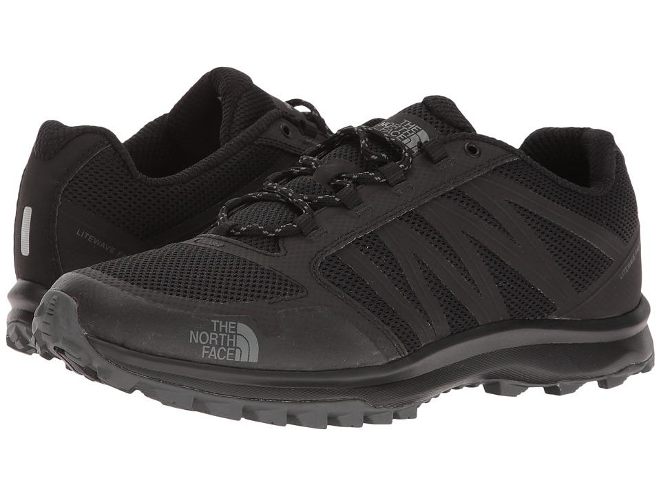The North Face - Litewave Fastpack (TNF Black/Zinc Grey) Men's Shoes