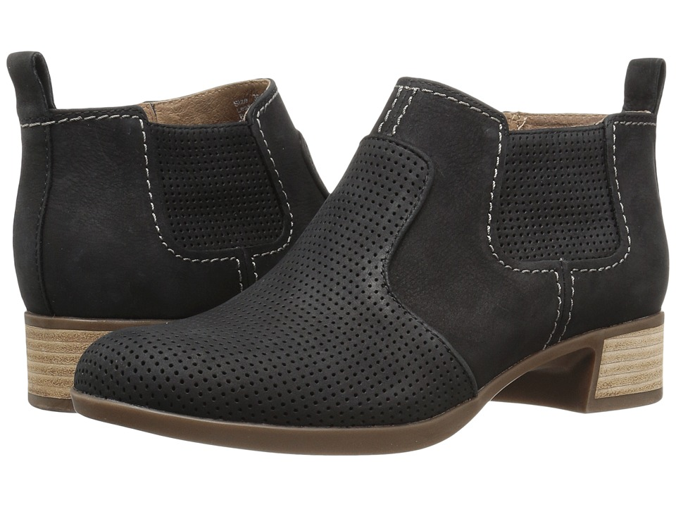 Dansko - Lola (Black Nubuck) Women's Boots