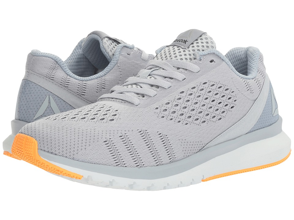 Reebok - Print Run Smooth ULTK (Cloud Grey/Gable Grey/Asteroid Dust/Polar Blue/Black/Fire Spark) Women's Running Shoes