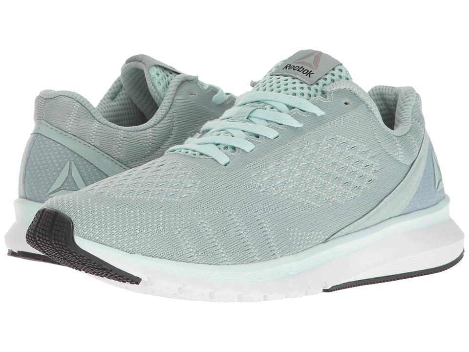 Reebok - Print Run Smooth ULTK (Seaside Grey/Mist/White/Coal) Women's Running Shoes