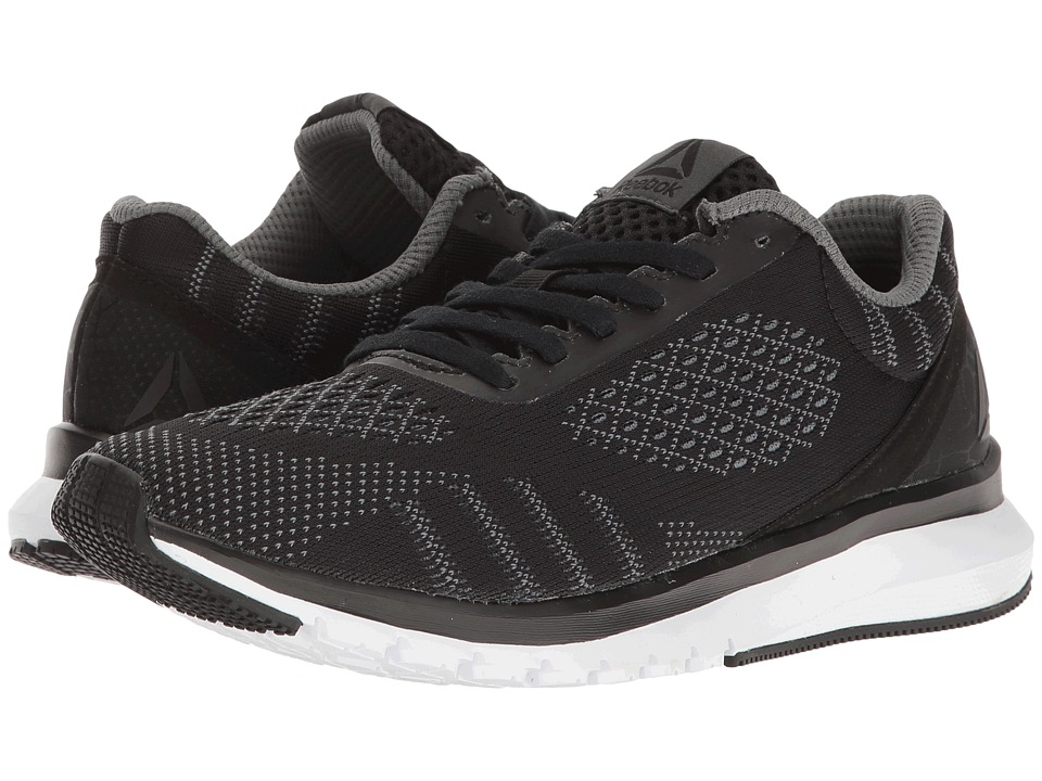 Reebok - Print Run Smooth ULTK (Black/Asteroid Dust/White) Women's Running Shoes