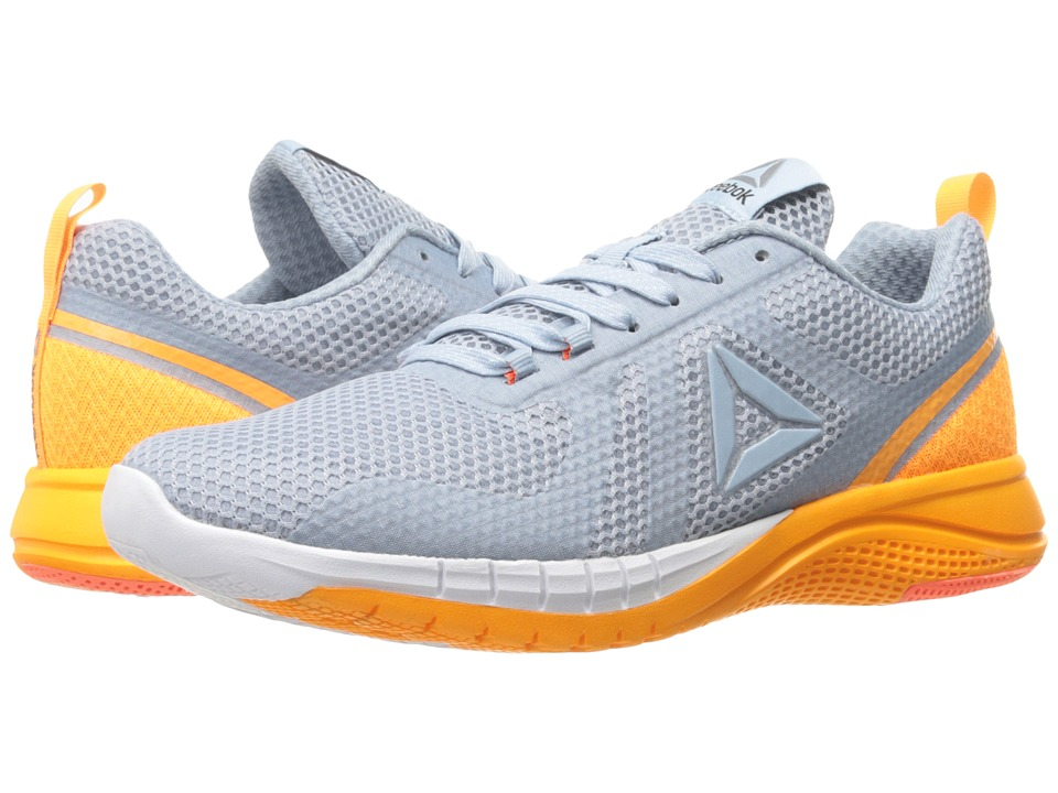 Reebok Print Run 2.0 (Gable Grey/Fire Spark/White/Pure Silver) Women
