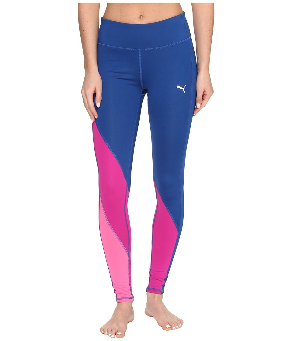 PUMA - Clash Tights (True Blue/Ultra Magenta) Women's Casual Pants