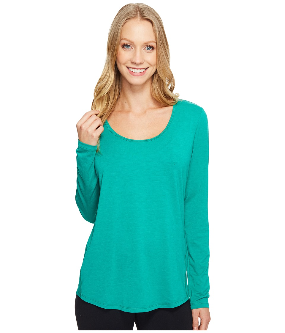 Lucy - L/S Workout Tee (Greenlake) Women's Workout