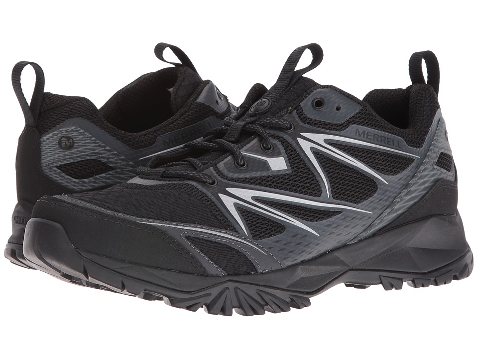 Merrell - Capra Bolt Air (Black) Men's Shoes