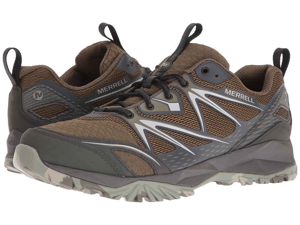 Merrell - Capra Bolt Air (Olive) Men's Shoes