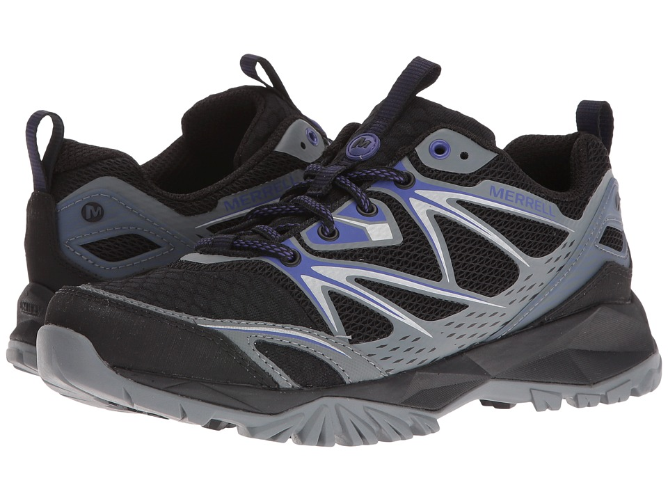 Merrell - Capra Bolt Air (Black) Women's Shoes
