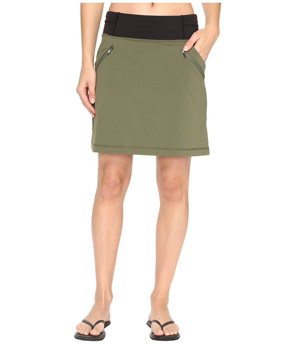 Lucy - Do Everything Skirt (Rich Olive) Women's Skirt