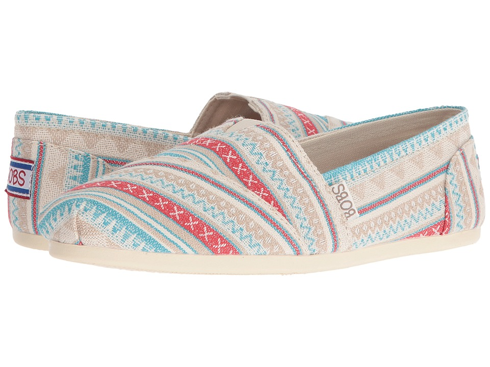 BOBS from SKECHERS Bobs Plush Aztec (Off-White) Women