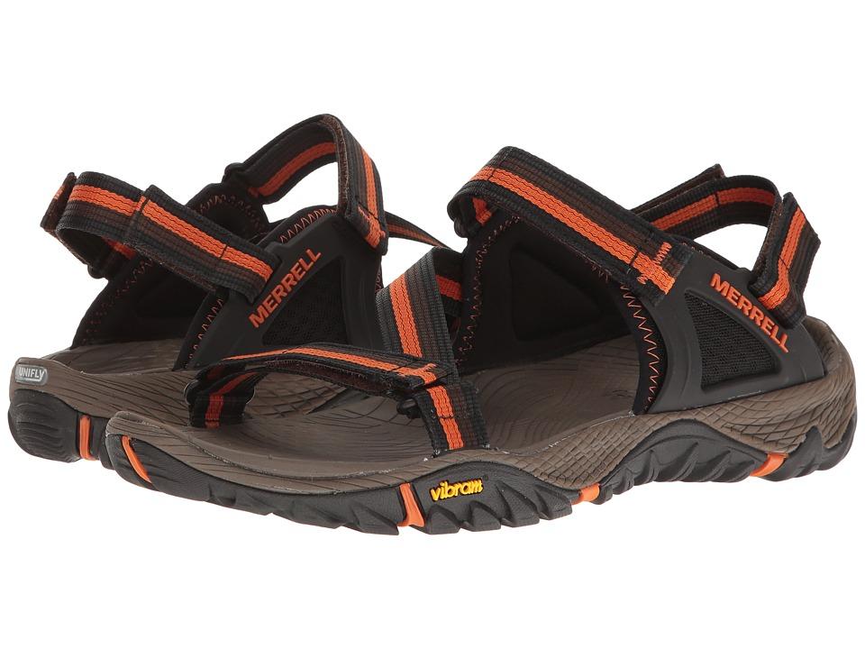 Merrell - All Out Blaze Web (Slate Black) Men's Sandals