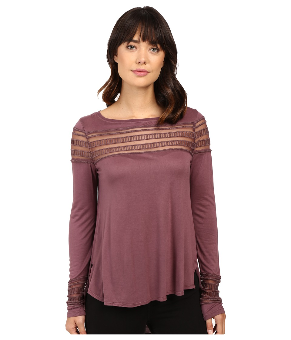 Free People - Roxie Tee (Purple) Women's T Shirt
