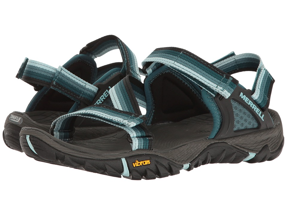 Merrell - All Out Blaze Web (Sea Pine) Women's Sandals