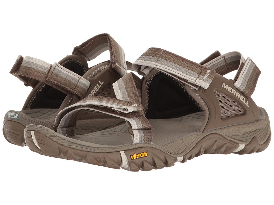 Merrell - All Out Blaze Web (Aluminum) Women's Sandals