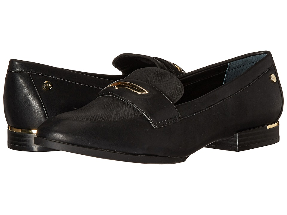 Calvin Klein - Wendall (Black Synthetic/Shipper Suede) Women's Shoes