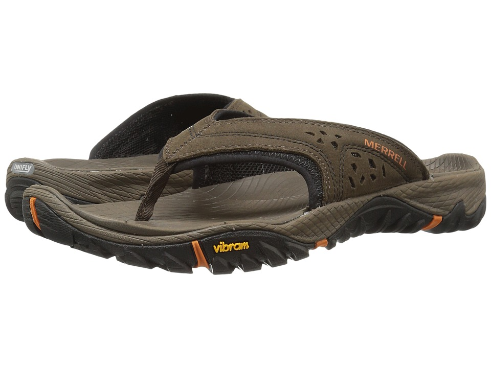 Merrell - All Out Blaze Flip (Slate Black) Men's Sandals