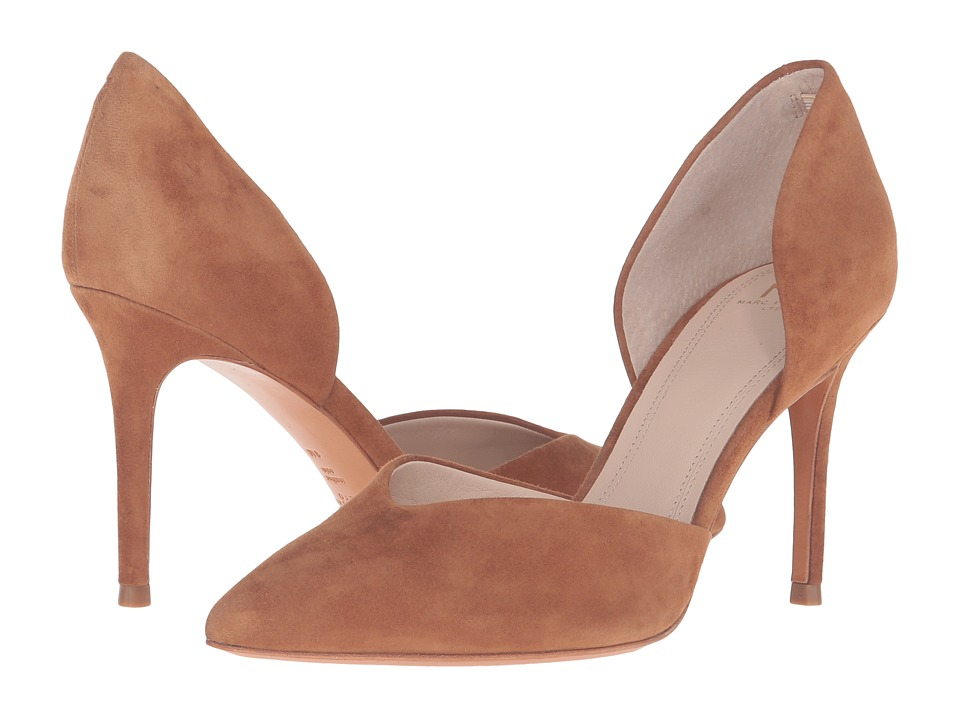 Marc Fisher LTD - Tammy (Dark Natural Suede) High Heels