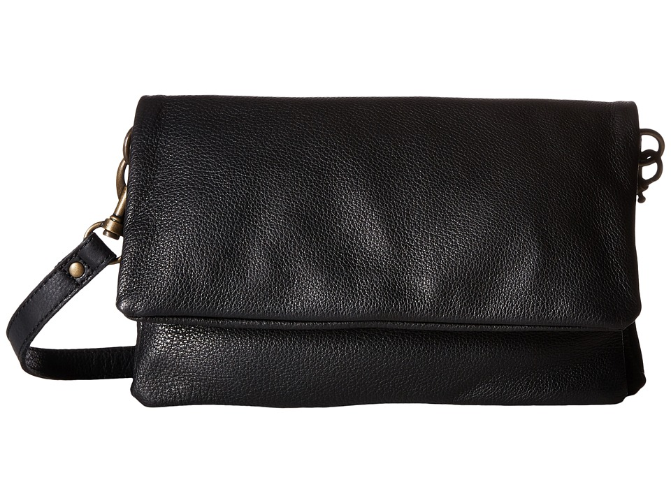 Liebeskind - Clarissa O Crossbody (Black) Cross Body Handbags