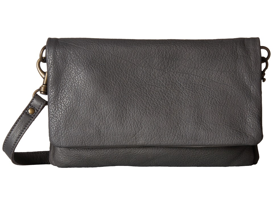 Liebeskind - Clarissa O Crossbody (Grey) Cross Body Handbags
