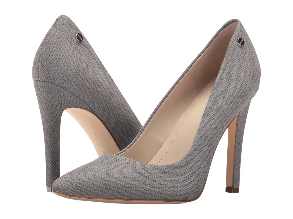 Calvin Klein - Brady (Grey Fabric) Women's Shoes