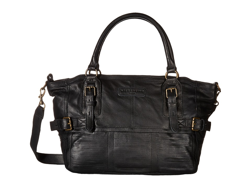 Liebeskind - Estonia O Satchel (Black) Satchel Handbags