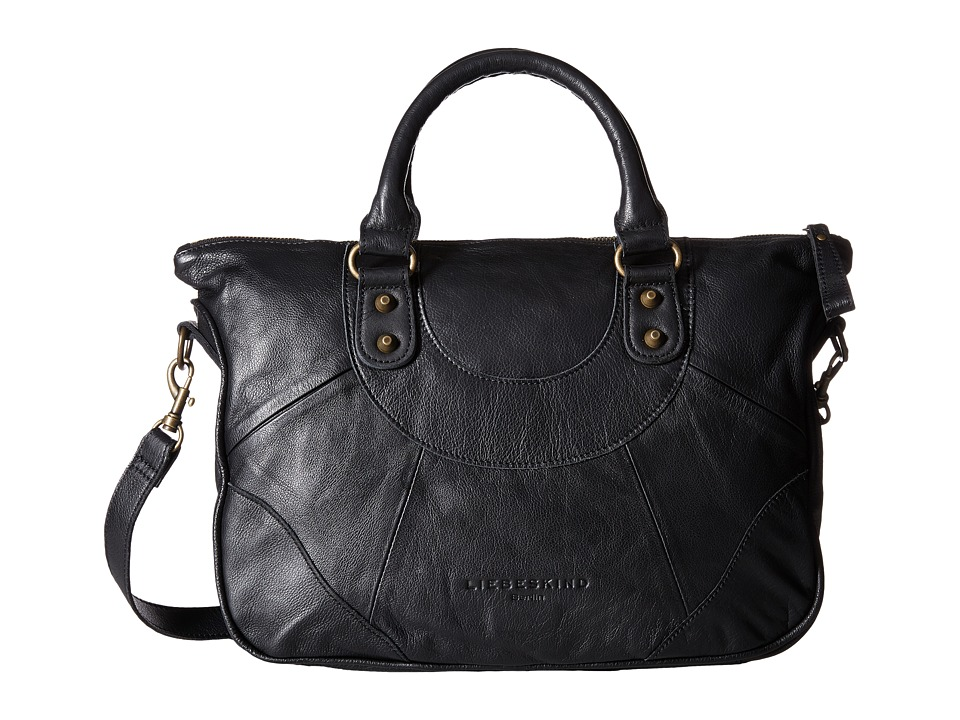 Liebeskind - Esther B Satchel (Black) Satchel Handbags