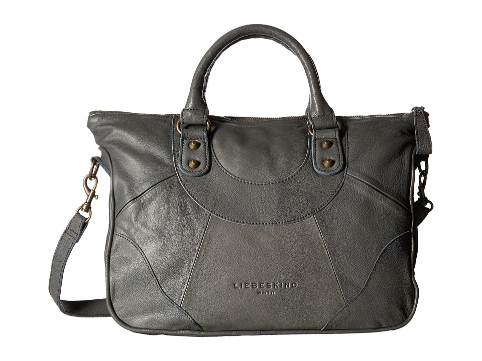 Liebeskind - Esther B Satchel (Grey) Satchel Handbags
