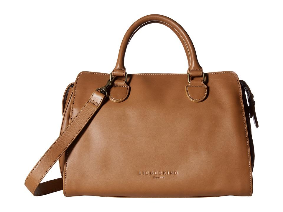 Liebeskind - Lillie O Satchel (Sand) Satchel Handbags