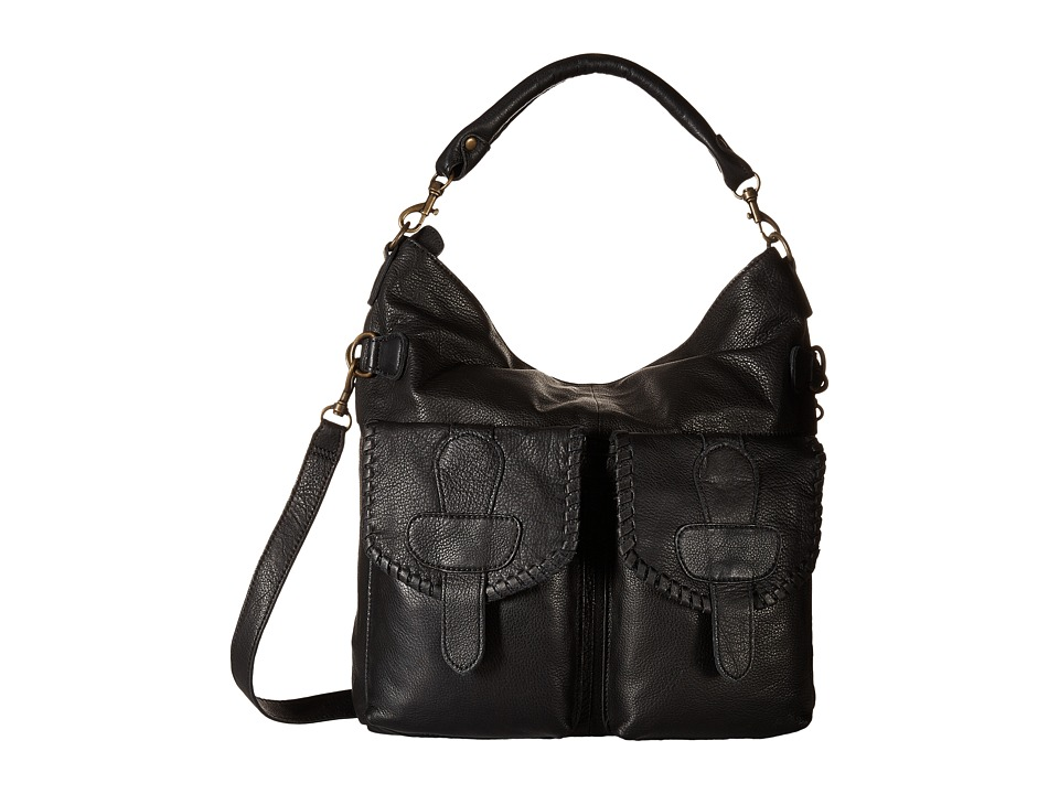 Liebeskind - June O Hobo (Black) Hobo Handbags