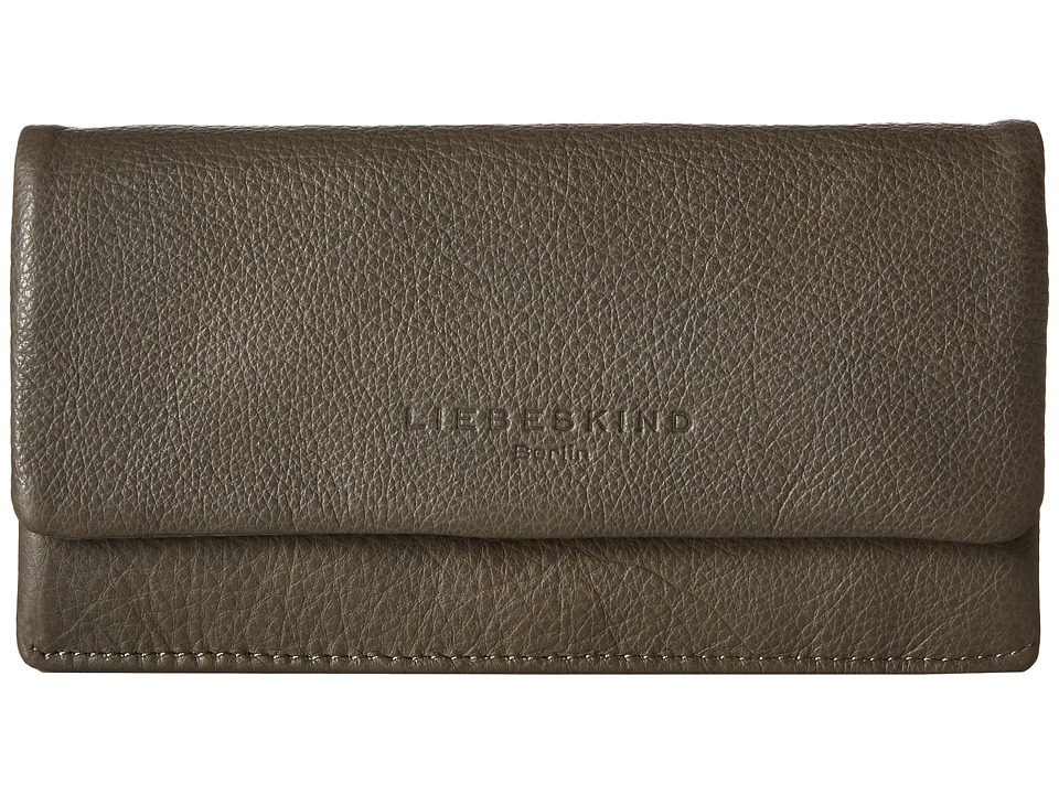 Liebeskind - Slam Foldover Snap Wallet (Taupe) Wallet Handbags