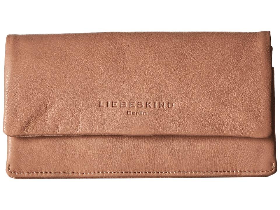 Liebeskind - Slam Foldover Snap Wallet (Caramel) Wallet Handbags