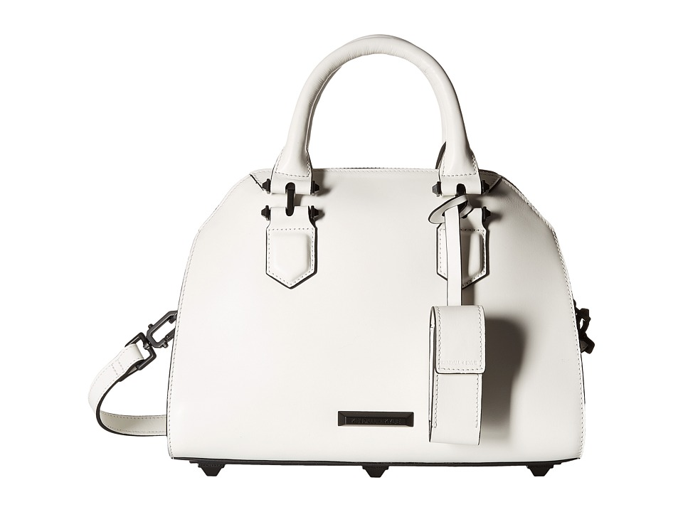 KENDALL + KYLIE - Holly Satchel (White) Satchel Handbags